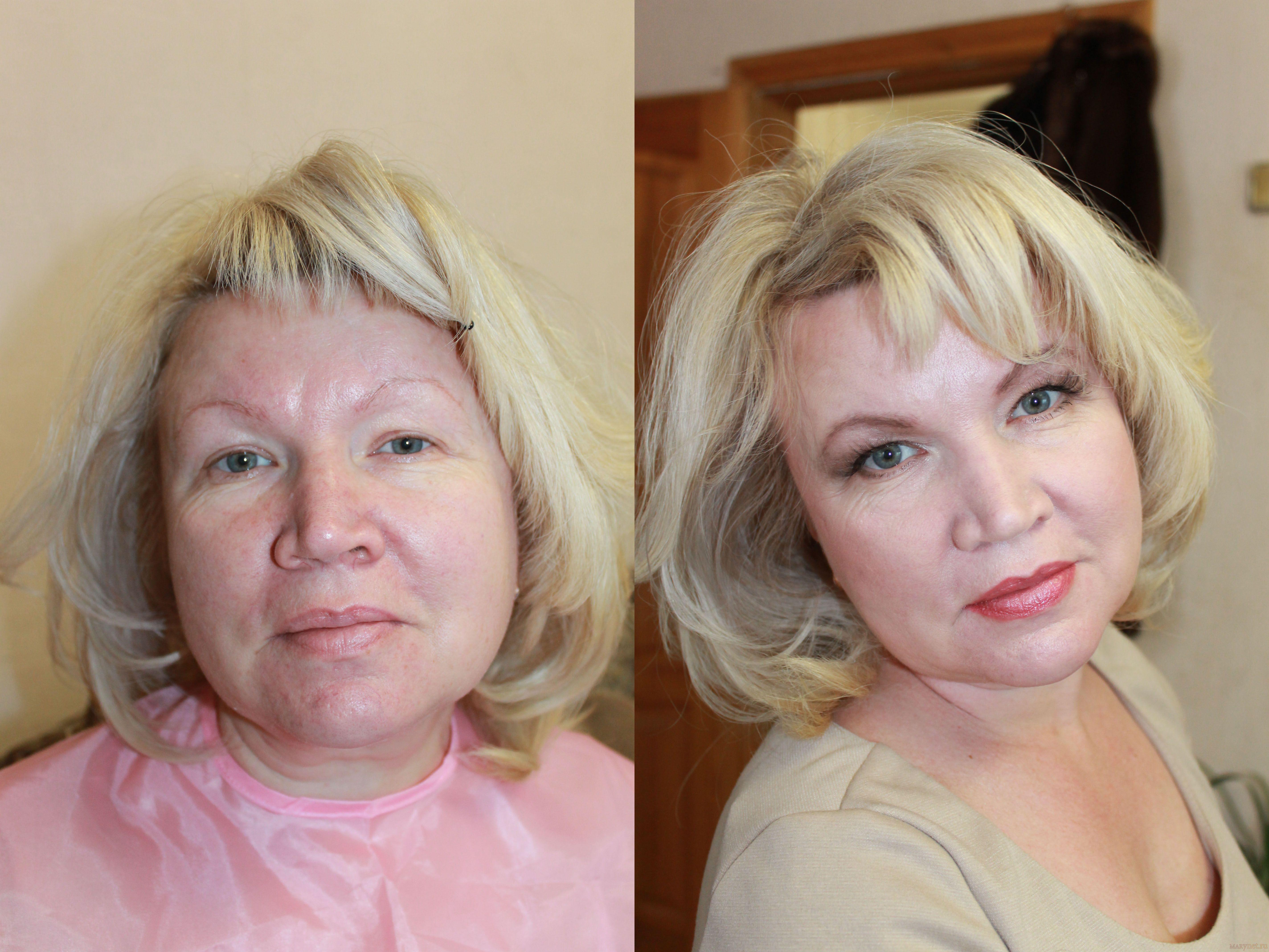 Фото всех видов макияжа только фото